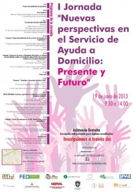 I Jornada Nuevas perspeciivas en el Servicio de Ayuda a Domicilio