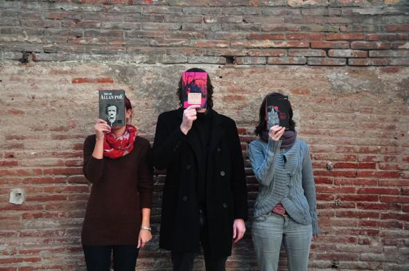 Anna, Maria y Gerard, impuulsores del proyecto La Casa Usher. / GT.