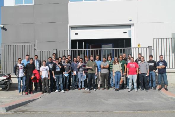 Alumnos del Máster Infraestructura Virtual y Cloud Computing de la UGR. / G.T.